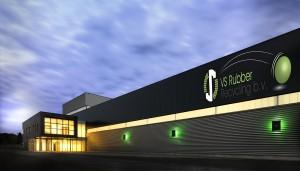 Het nieuwe bedrijfspand van VS Rubber Recycling B.V. in Venlo